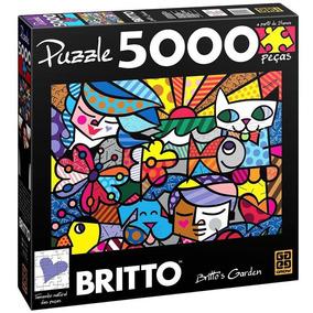 Quebra-cabeça Grow 5000 Peças Romero Britto Britto