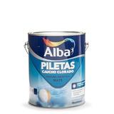 Pintura Para Piletas Caucho Clorado X 4lts Alba - Prestigio