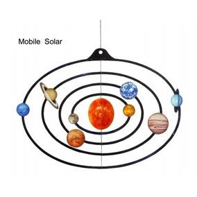 Maquete Móbile Do Sistema Solar Em Papel Para Voce Fazer