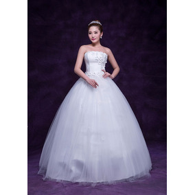 Hermoso Vestido De Novia Moda Asiatica Envio Inmediato