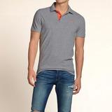 Camisa Polo Hollister Masculina - Tam M, G/l E Gg/xl - P5