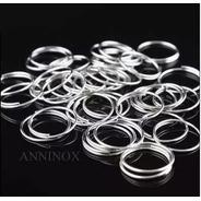 5000 Argolas Em Aço Inox Para Montagem De Lustres 10mm