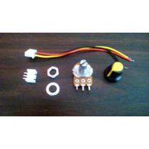 Kit De Potenciometro, Perilla, Conector Rápido