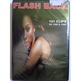 Dvd Flashback 101 Clips De 1980 A 1990 ( Original E Lacrado)