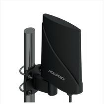Dtv-5600 Antena Externa Amplificada De Tv 4 Em 1 Aquário
