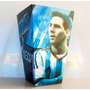 Cono Para Pochoclos Y Golosinas Messi Argentina Pack X30