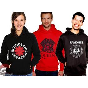 Moletons Blusas De Frio Bandas Acdc Raimundos Nirvana Guns