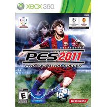 Pes 2011 Xbox 360 Nuevo Y Sellado
