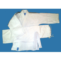 Judogi Samurai-ie Junior Tramado Mediano Blanco 160 A 180cm