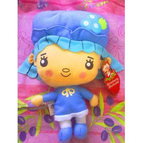 Rosita Fresita Peluche De Muneca Vestida De Azul