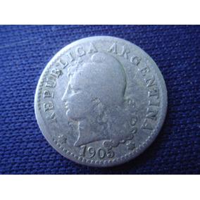 Argentina :cuproniquel 5 Ctvos 1905