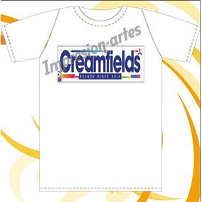 Creamfields - David Guetta - Remeras De Modal Estampadas