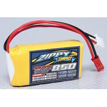 Bateria Lipo 850mah 7.4v 2s 25c Zippy Compac Recargable Pila