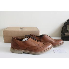 Zapatos Brogues Mujer Cuero Genuino Asos Nuevos 40