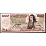 Mexico 1984 - America, Billete De 1000 Pesos, Serie Wd, Unc
