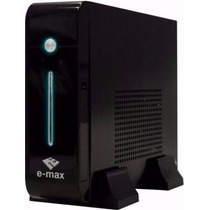 Mini Cpu Slim (thin Client Black Piano Atom 1.8ghz 1gb Ddr2