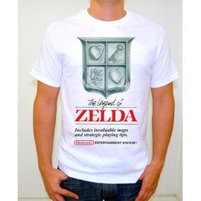 Zelda Nes Playera Gamer Retro Nintendo The Legend Of Zelda