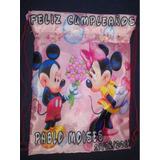 Tula Mickey Mause Mini Sofia Bolso Cotillon Regalos 20*25cm