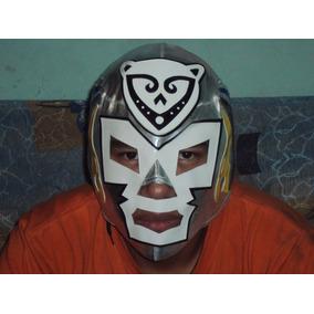 Mascara Luchador Dr. Wagner Jaguar De La Isla Autografiada