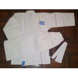 Judogi Samurai-ie Gabardina 8oz Blanco Talles De 140 A 190cm