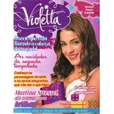 Revista Pôster Raríssima Violetta = Gigante 52x81cm Violeta!