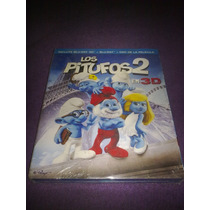 Los Pitufos 2 / Blu Ray 3d + Blu Ray + Dvd