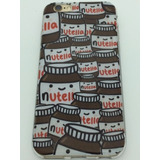 Capinha Capa Case Silicone Iphone 5/5s/se Nutellas Chocolate