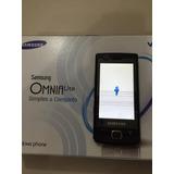 Samsung Omnia Lite B7300 - Wi-fi 3 Mp - Tela De Demonstração