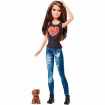 Boneca Barbie Irmâs Com Pets Mattel Clf96
