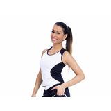 Camiseta Regata Slim Fitness Academia Feminina Ginástica