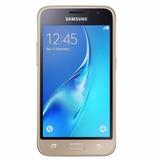 Celular Samsung Galaxy J1 J120 2016 Duos 3g Dourado Seminovo
