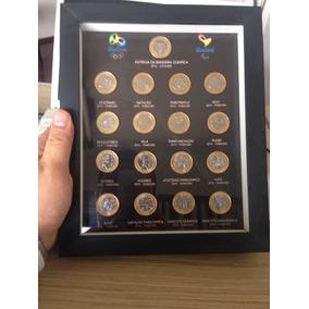 Coleção Completa Com Moldura Moedas Olimpíadas !