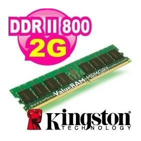 Memoria Kingston Ddr2 2gb 800 Pc