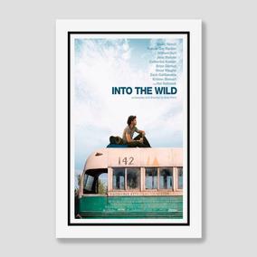Quadro Natureza Selvagem 60x40cm Poster Filme Into The Wild