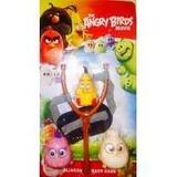 Brinquedo Angry Birds O Filme Estilingue Com 3 Bonecos
