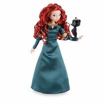Bonecas Merida E Rapunzel Disney Store Valente Com Mascote