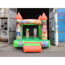 Brincolin Inflable Castillo Dora La Exploradora Y Diego Go!