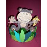 Cumpleaños Tematico Animalitos De La Selva Cotillon Infantil