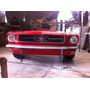 Escritorio Mustang 1965 Tamaño Real Con Luz En Los Faros