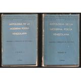 L9173. Antología De La Moderna Poesía Venezolana (2 Vol)