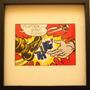 Litografía Original Roy Lichtenstein, Enmarcada