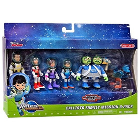 Set De Figuras Miles Del Manaña Juguete Disney