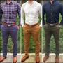 Pantalones Drill Strech Y Rectos Clásicos