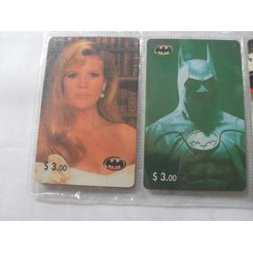 Cartões Telefônicos Do Filme Batman 2 Cartões Importados