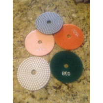 Lijas De Diamante Para Pulir Marmol Granito Concreto $100