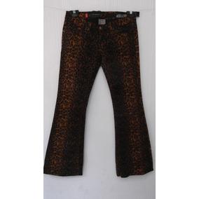 Pantalon Jeans Rock Star T/3= 26 Mex Animal Print