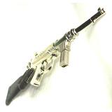 Fusil Ametralladora Juguete Antiguo Metal Cebita