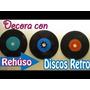 Discos De Acetatos Para Decoraciones (viejos Rayados)