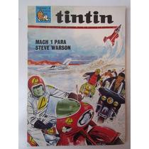 Lote Com 05 Antigas Revistas Do Tintin - Hq - Gibi