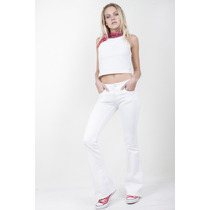 Jean Mujer Sweet Nicky White Oficial